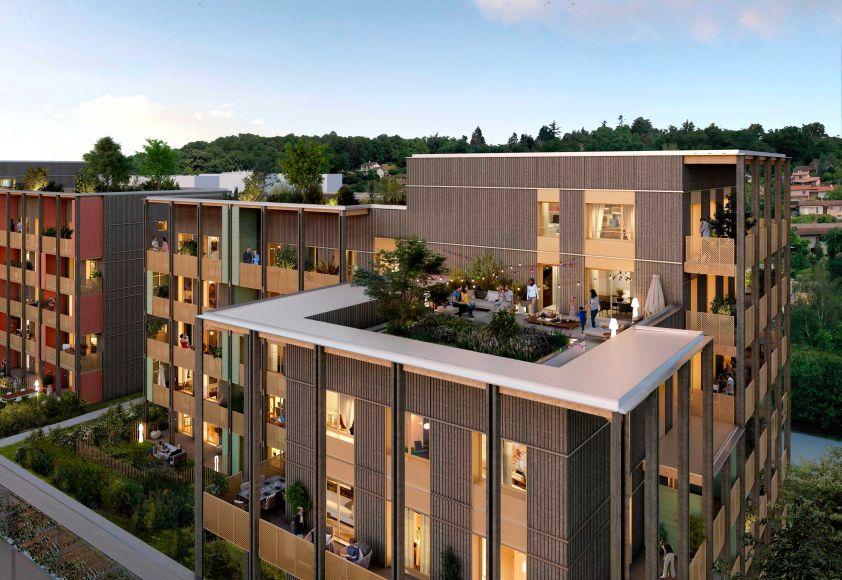 Programme immobilier ICA27 appartement à Trévoux (01600) Au cœur d'un décor paysager