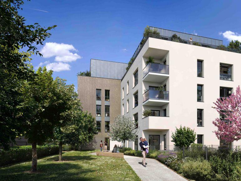 Programme immobilier ICA31 appartement à Chassieu (69680) Cadre de vie idéal
