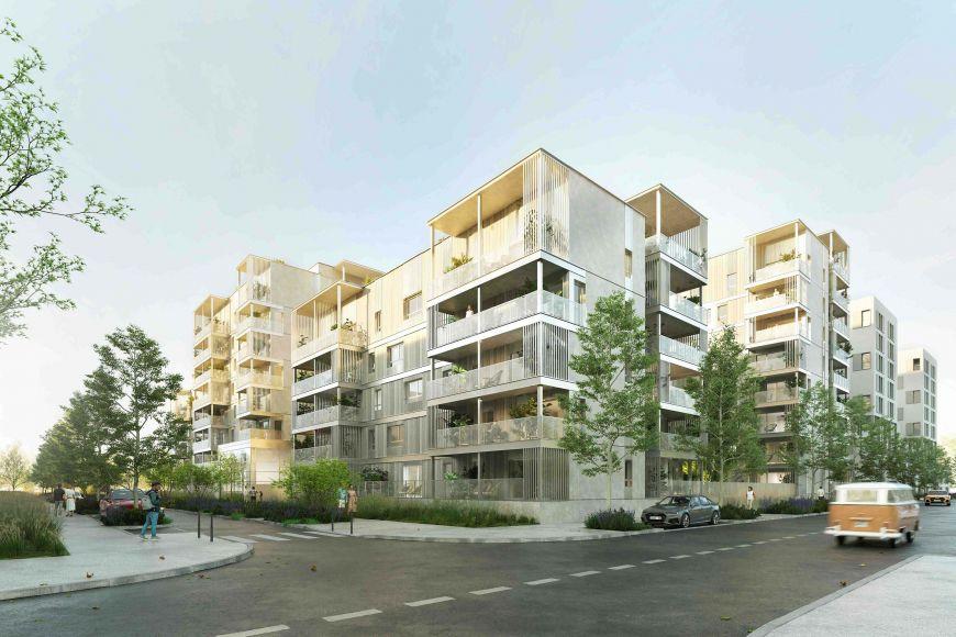 Programme immobilier ICA30 appartement à Vénissieux (69200) À proximité immédiate du métro