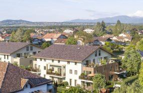 Programme immobilier EQ9 appartement à Veigy-Foncenex (74140) 30 minutes de Genève