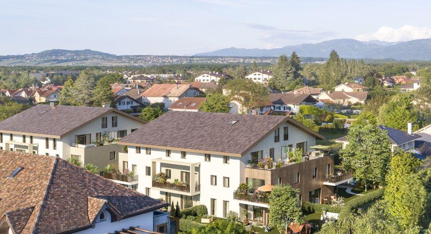 Programme immobilier ICA29 appartement à Veigy-Foncenex (74140) Environnement de choix