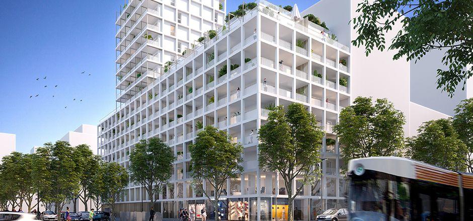 Programme immobilier PI46 appartement à Marseille 15ème (13015) Un quartier écoresponsable