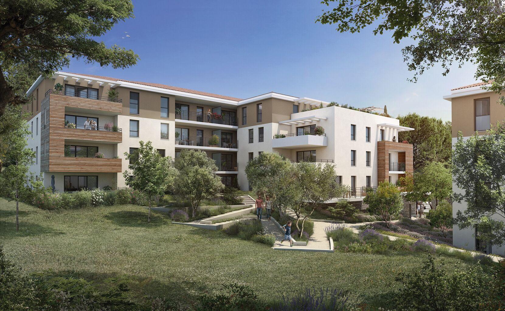 Programme immobilier VAL147 appartement à Aix-En-Provence (13100) Entre ville et campagne