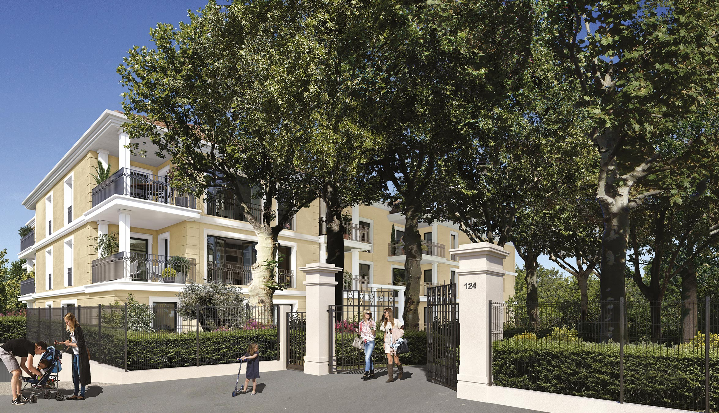 Programme immobilier ALT105 appartement à Aix-En-Provence (13100) À 8 min du centre-ville