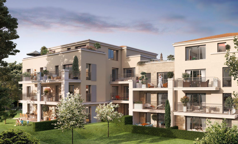 Programme immobilier QUA8 appartement à Aix-En-Provence (13100) Un environnement chic et citadin