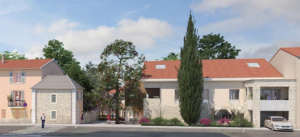 Programme immobilier VAL145 appartement à Collonges au Mont d Or(69660) Au cœur des Monts d'Or