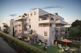 """Programme immobilier VAL95 appartement à Marseille 12ème (13012) Hameau """"des Caillols"""""""
