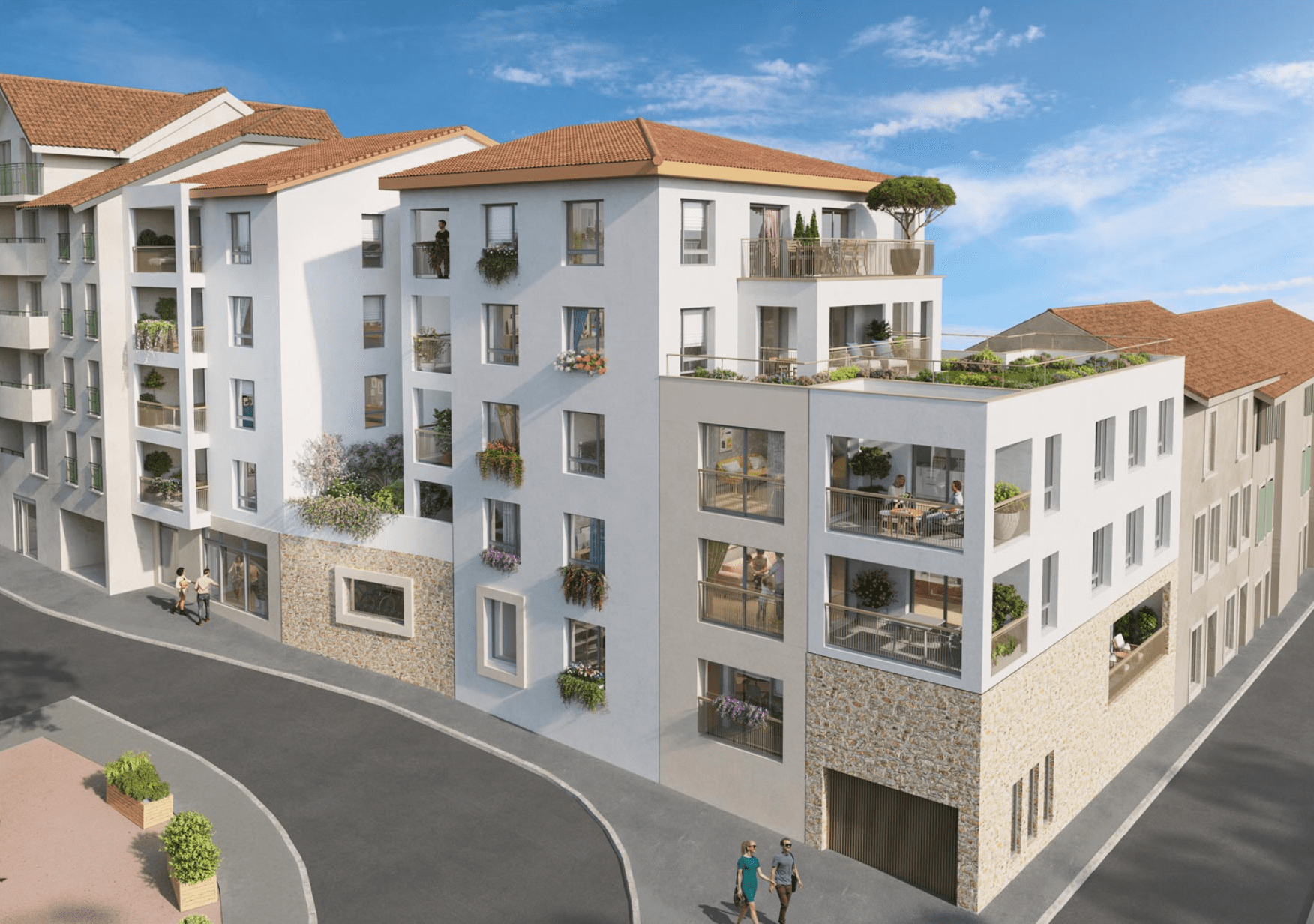 Programme immobilier KAB32 appartement à Bourgoin-Jallieu (38300) Au cœur du quartier Pont Saint-Michel