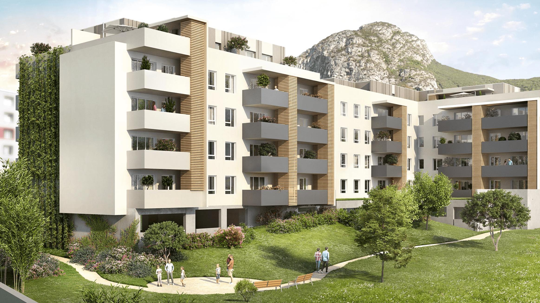 Programme immobilier KAB33 appartement à St Martin Le Vinoux (38950) À 2 minutes de la Presqu'Île