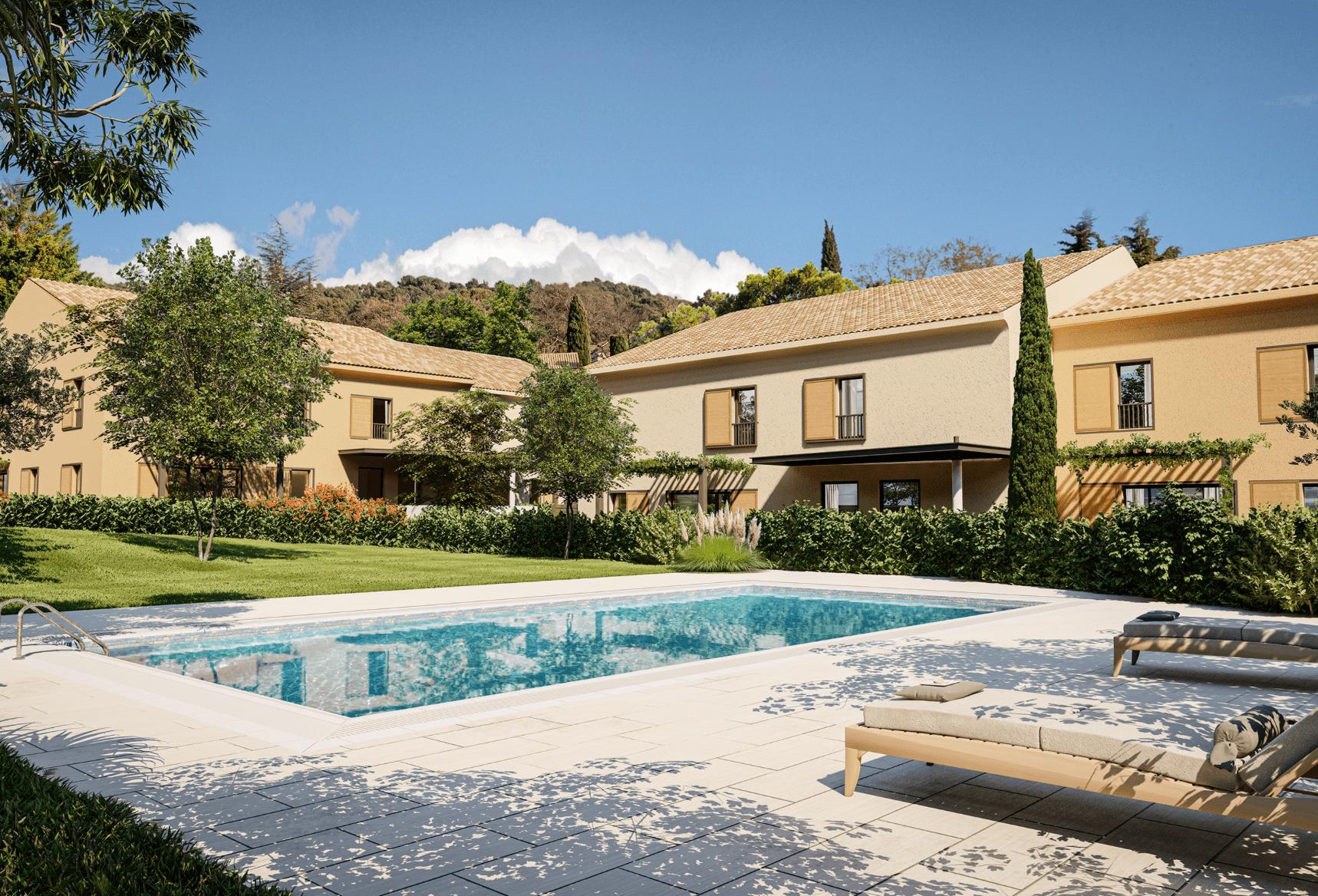 Programme immobilier OGI34 appartement à Aix-En-Provence (13100) Au cœur du village de Luynes