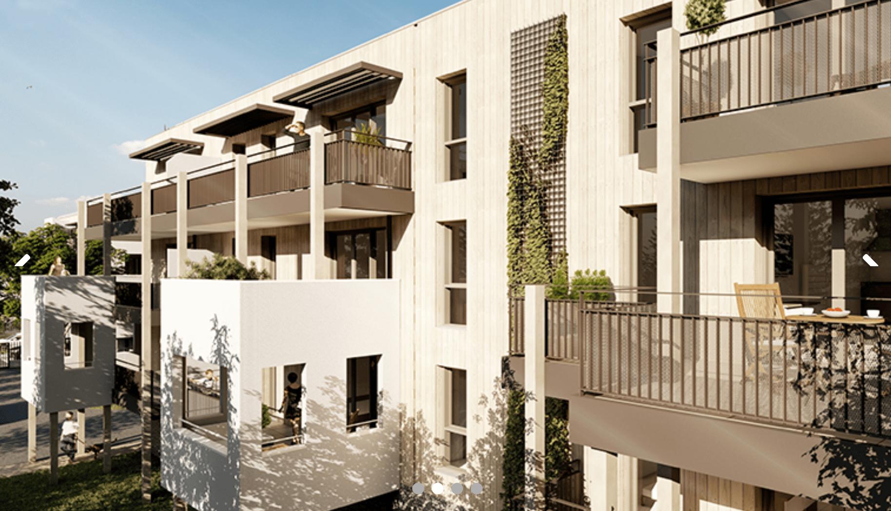 Programme immobilier PI44 appartement à Le Pontet (84130) À 5 minutes à pied des commerces