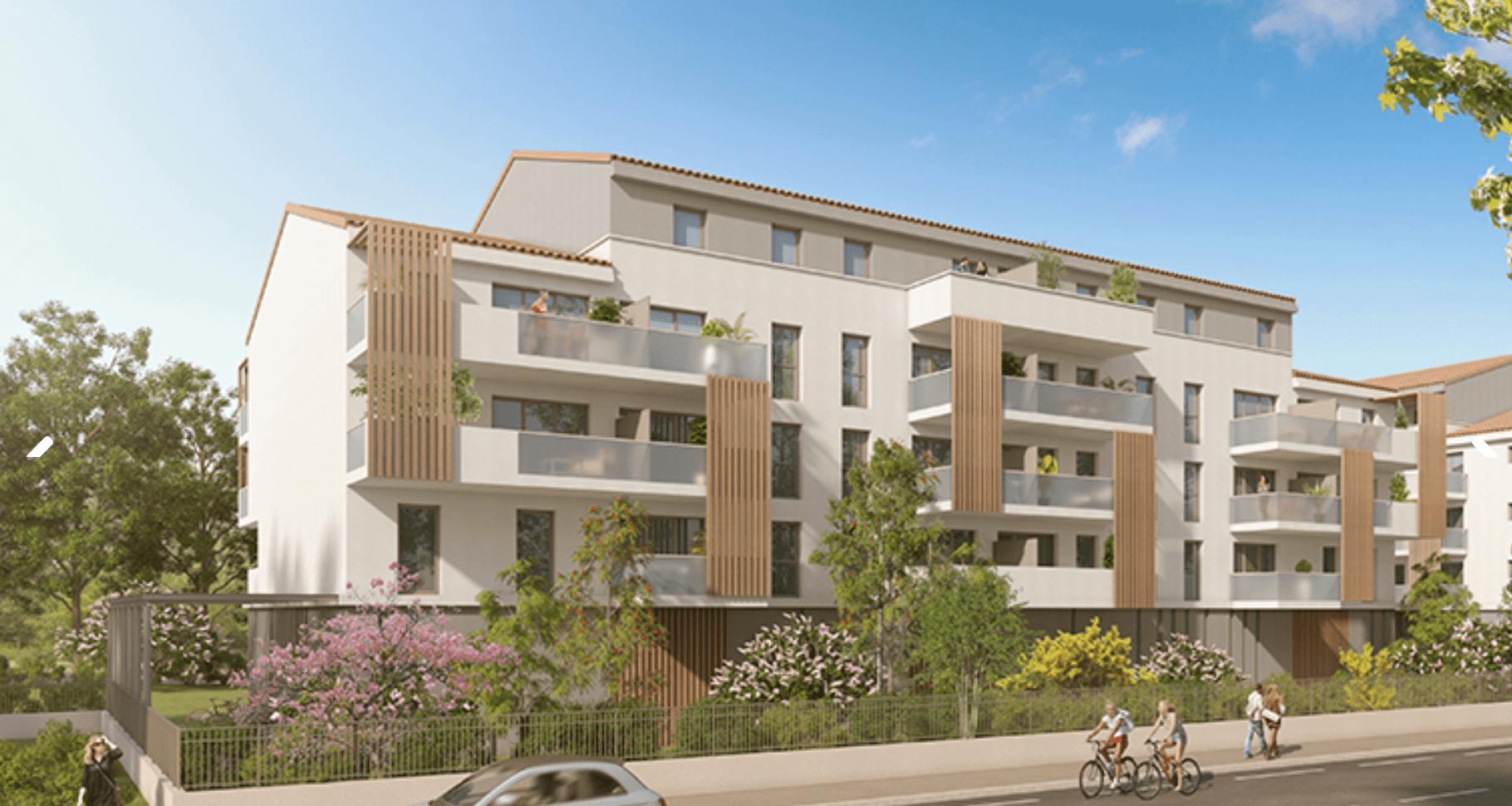 Programme immobilier PI45 appartement à Avignon (84140) Proche Centre Ville