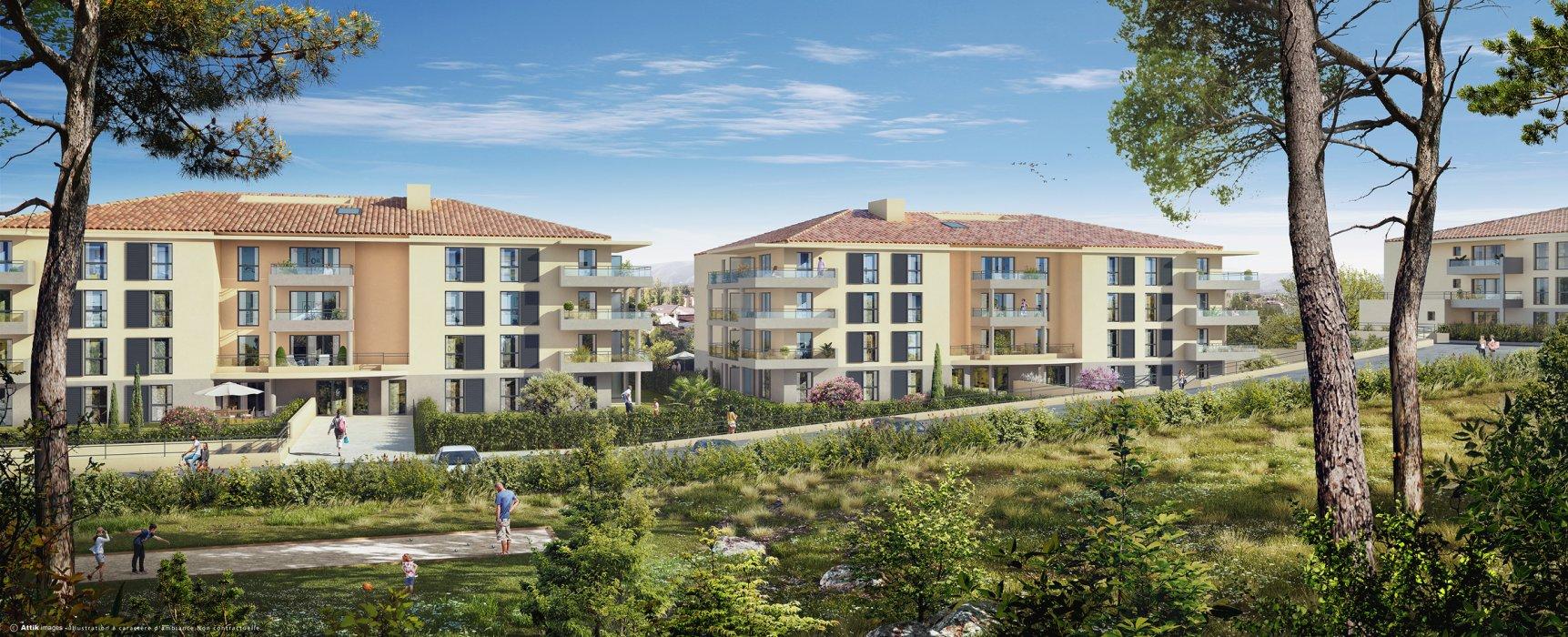 Programme immobilier VIN31 appartement à Brignoles (83170) Ville typiquement provençale