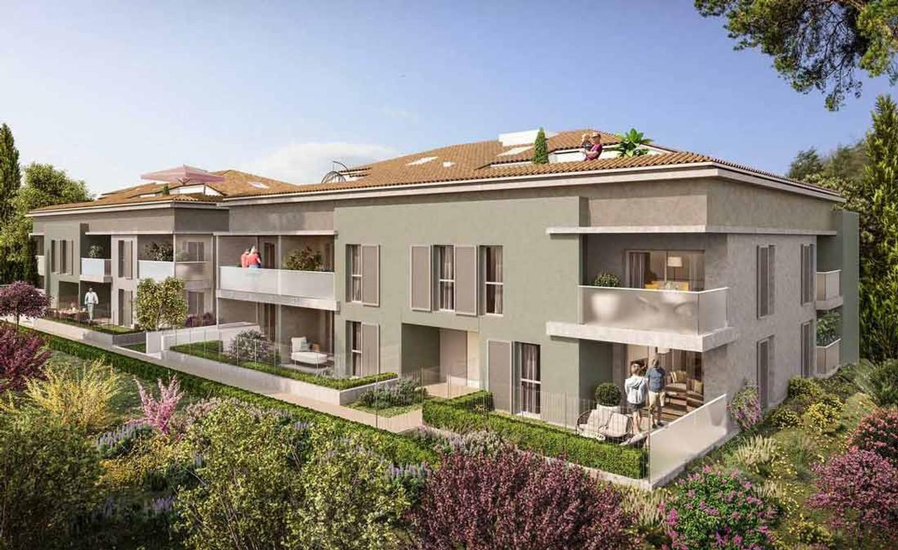 Programme immobilier URB27 appartement à Cogolin (83310) En plein cœur du Golfe de Saint-Tropez