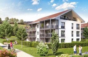 Programme immobilier BOW22 appartement à Metz-Tessy (74370) En surplomb de Metz-Tessy