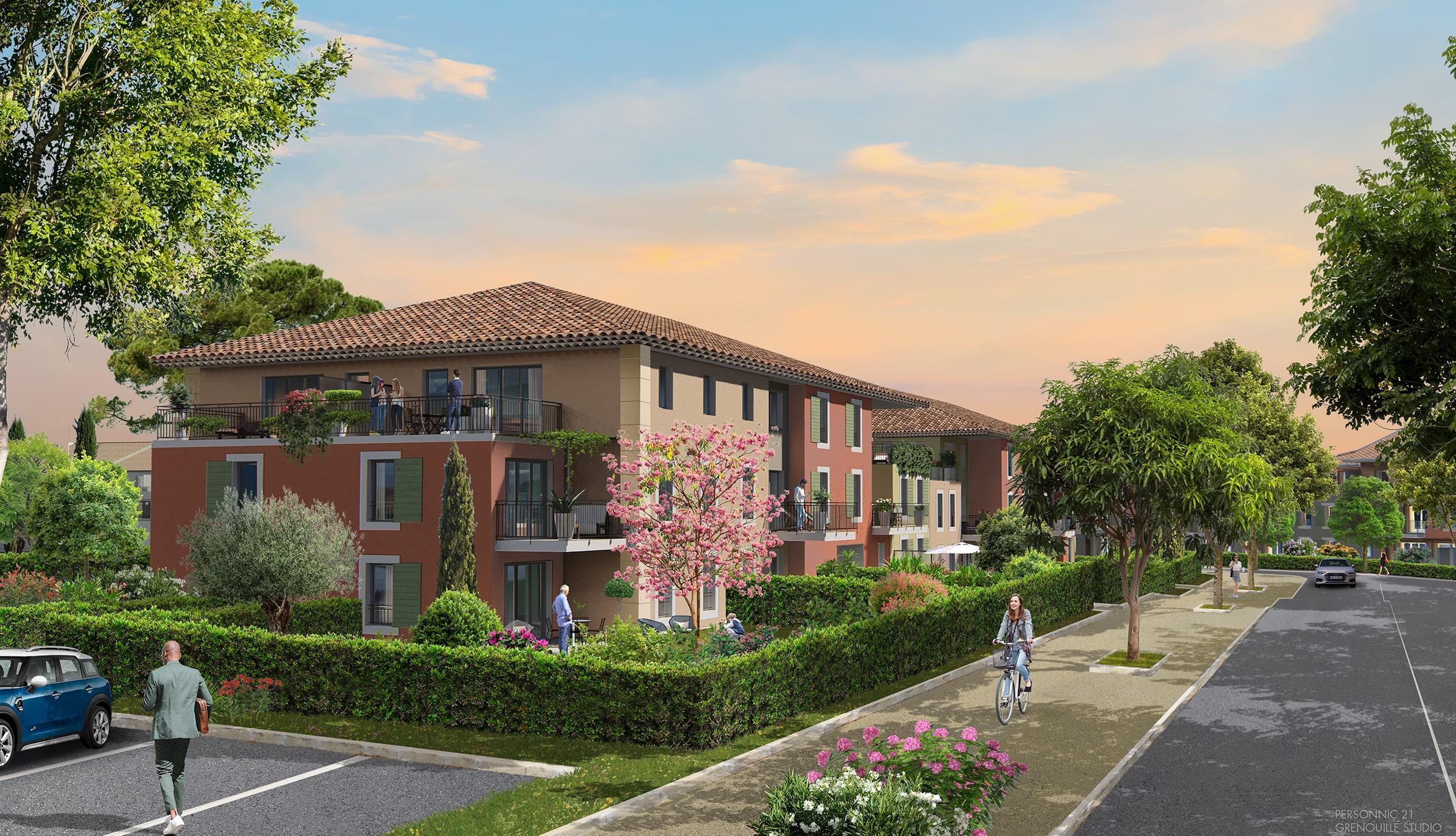 Programme immobilier ALT109 appartement à Le Puy-Sainte-Réparade (13610) Une valeur sûre entre Lubéron et Pays d'Aix