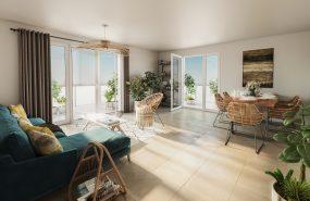 """Programme immobilier BOW9 appartement à Saint-Genis-Pouilly (01630) Quartier dynamique """"Porte de France"""""""