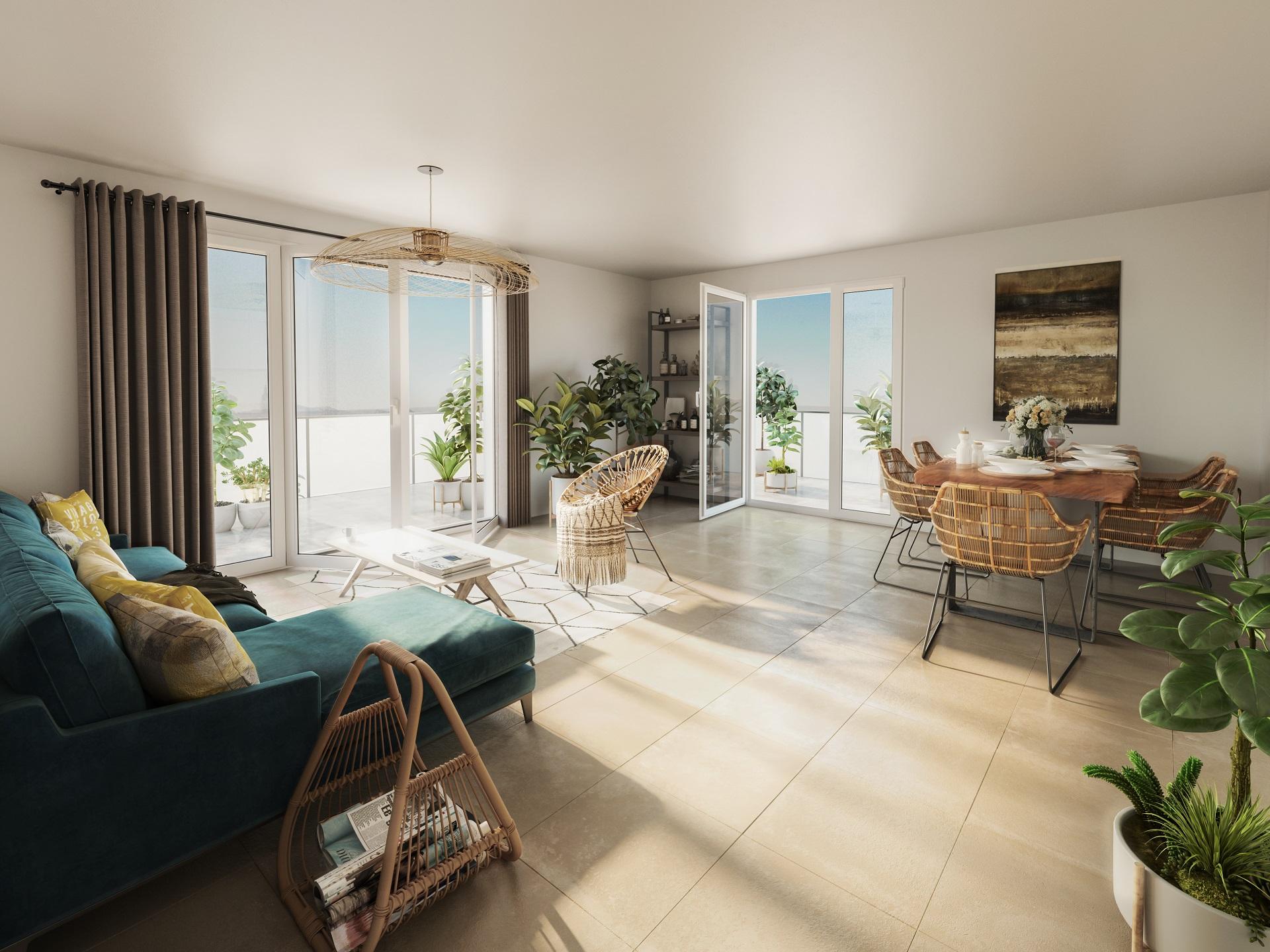 Programme immobilier BOW20 appartement à Saint-Genis-Pouilly (01630) Quartier Porte de France