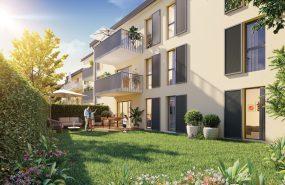 Programme immobilier NWI4 appartement à Rillieux-la-Pape (69140) La nature pour faire le plein d'énergie à 1 min