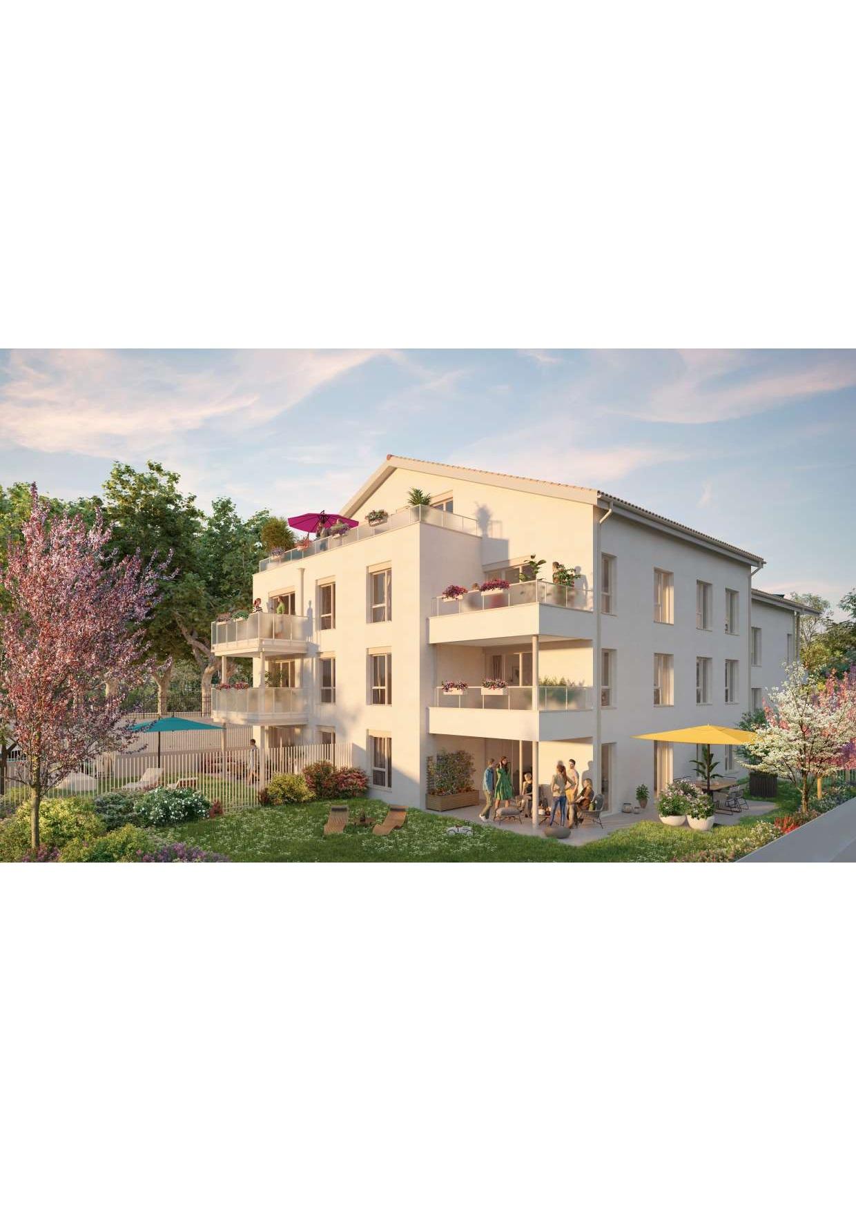 Programme immobilier SP14 appartement à Saint-Priest (69800) Environnement au charme rural