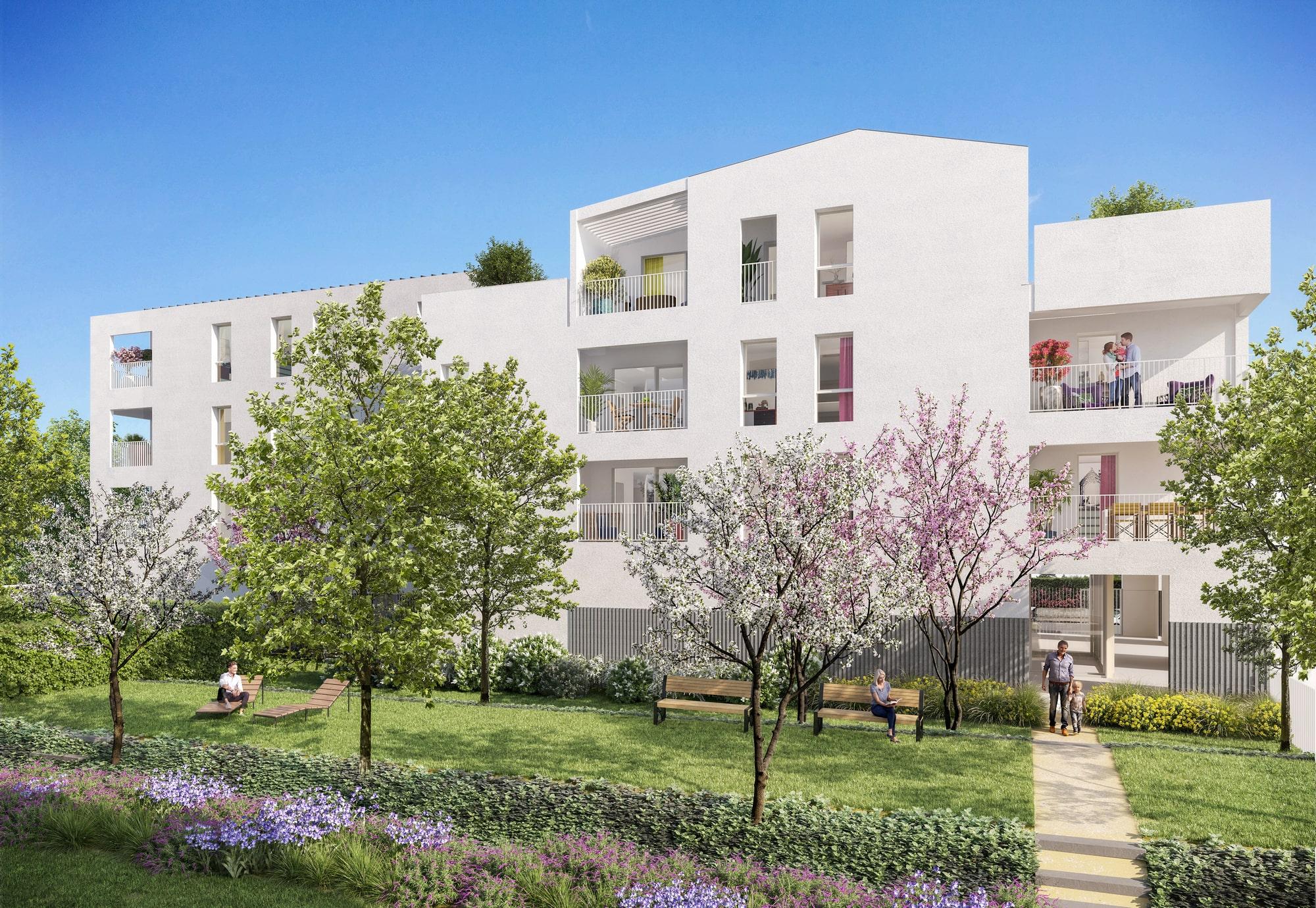 Programme immobilier ALT102 appartement à Grigny (69520) Aux portes de Lyon