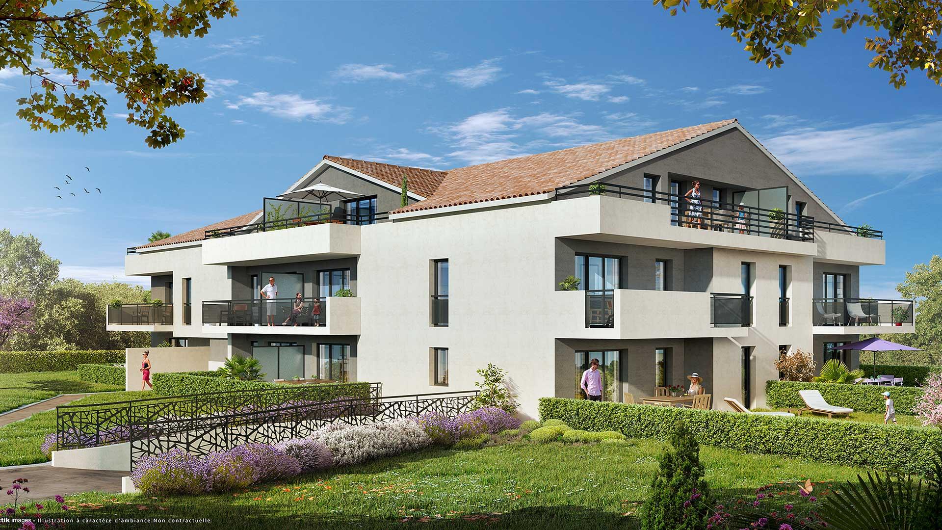 Programme immobilier ALT115 appartement à La Garde (83130) Quartier Sainte Marguerite