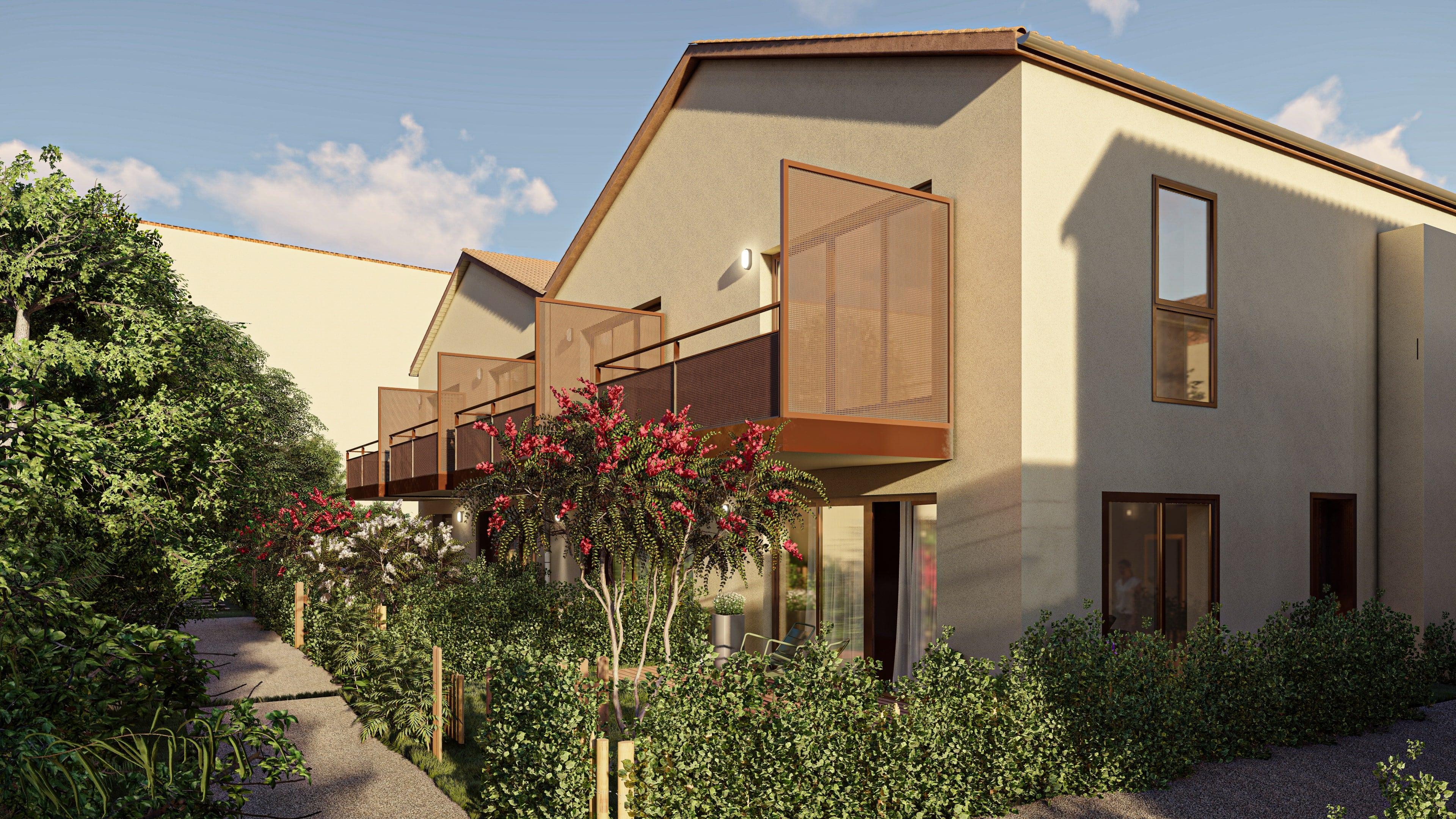 Programme immobilier AJA17 appartement à Saint-Priest (69800) Environnement verdoyant et paisible
