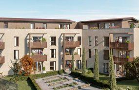 Programme immobilier VAL144 appartement à La Tour Salvagny (69890) Cadre d'exception et convivialité