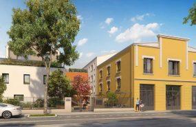 Programme immobilier VAL143 appartement à Villeurbanne (69100) Dans une petite impasse pavillonnaire préservée