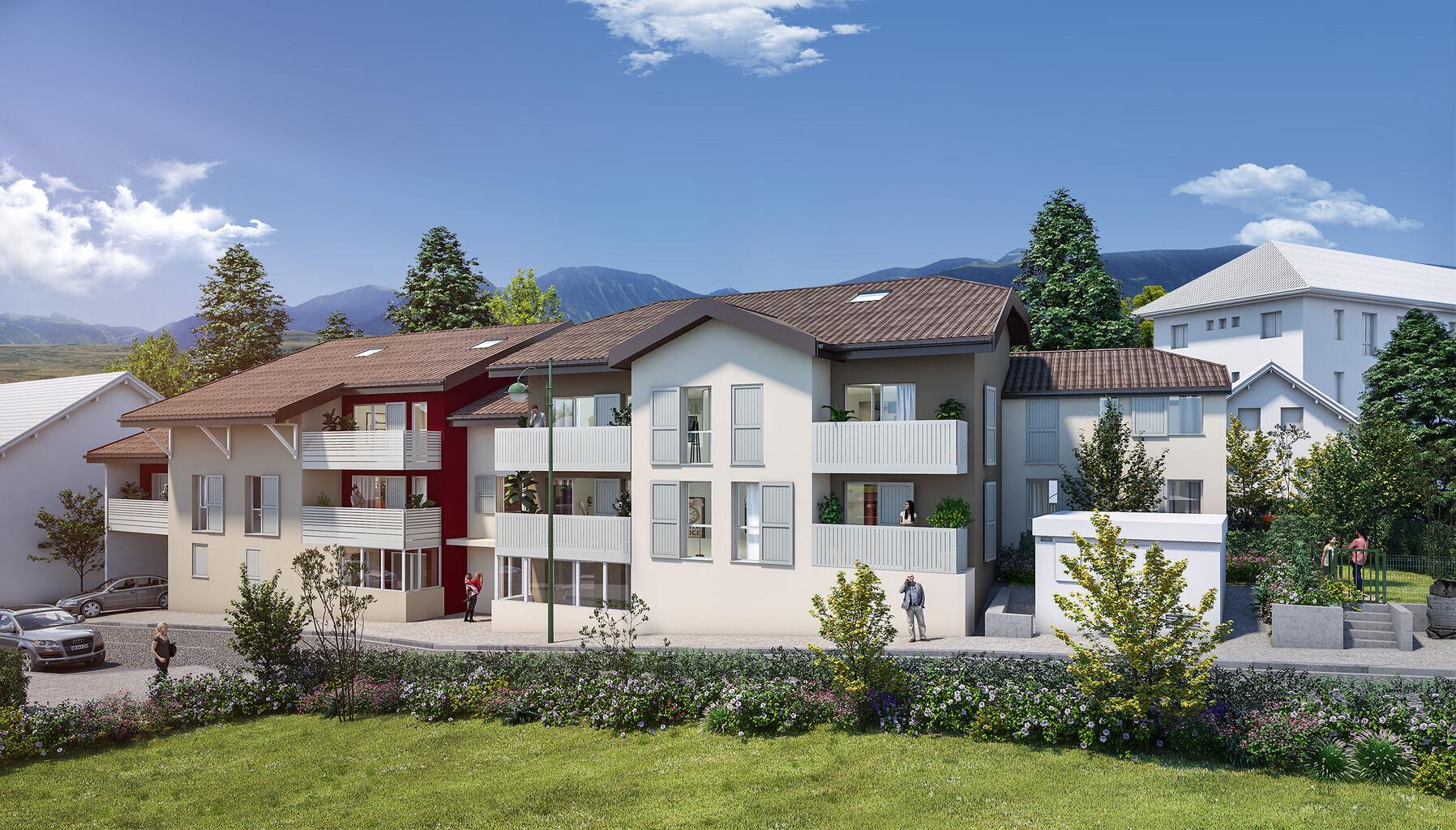 Programme immobilier VAL152 appartement à Thonon les Bains (74200) Dans un quartier résidentiel