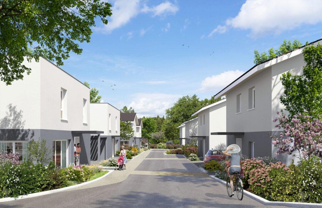 Programme immobilier LNC40 appartement à Perrignier (74550) À proximité de la gare
