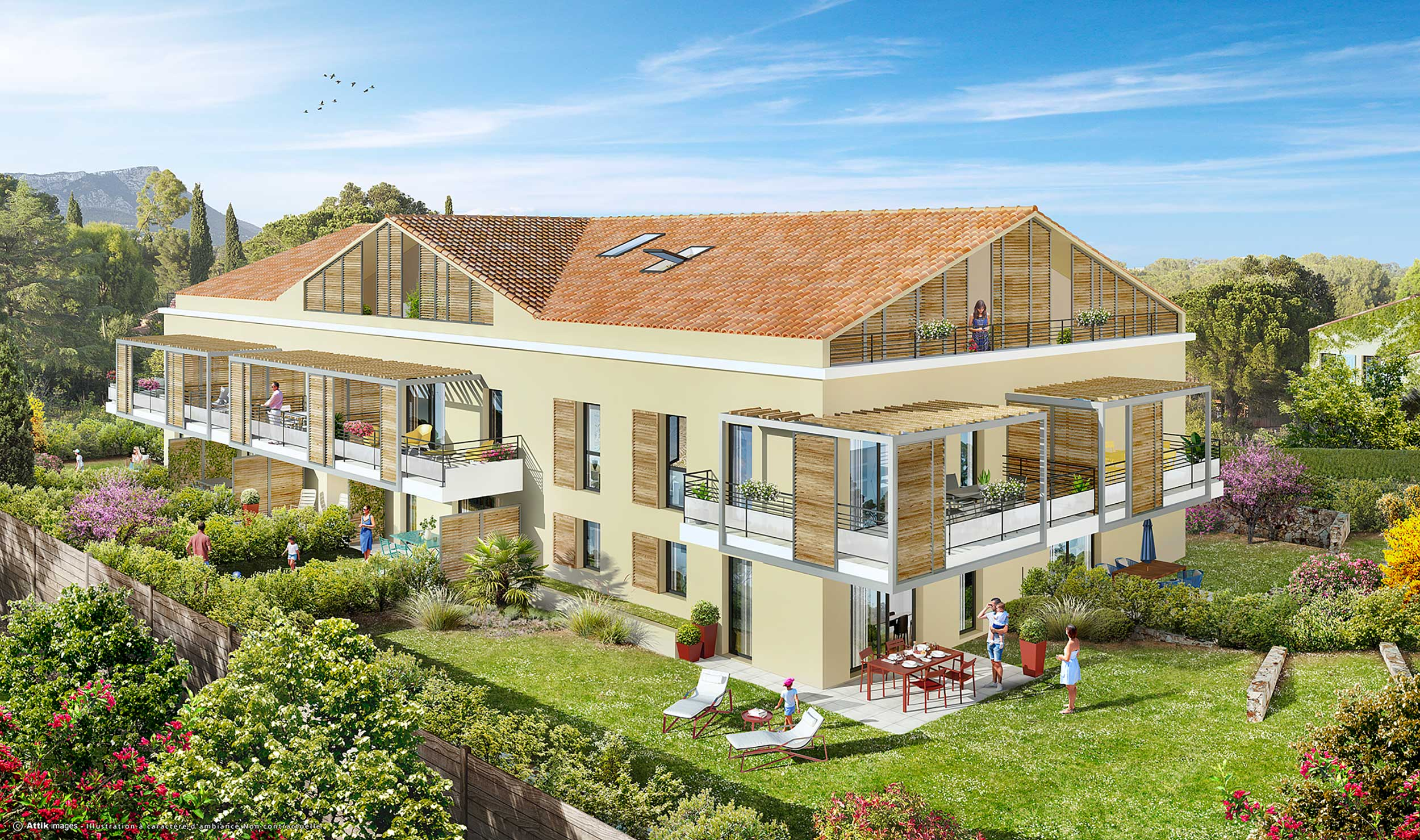 Programme immobilier ALT111 appartement à Toulon (83000) Dans le secteur très prisé du Cap Brun