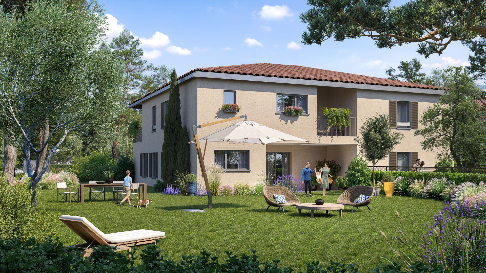 Programme immobilier EUR24 appartement à Aix-En-Provence (13100) Quartier résidentiel recherché