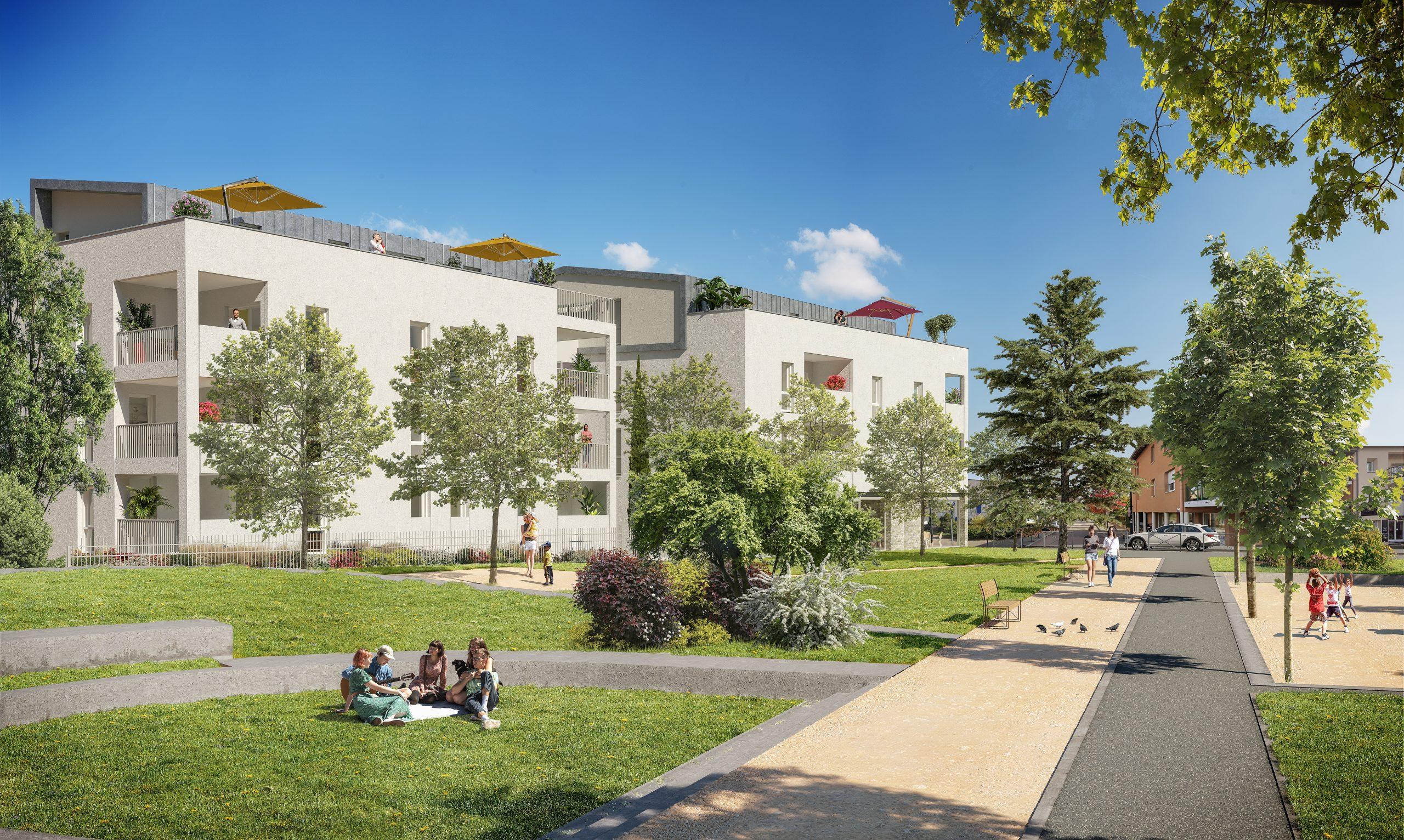 Programme immobilier ALT101 appartement à Saint Genis Les Ollieres (69290) En plein cœur de bourg
