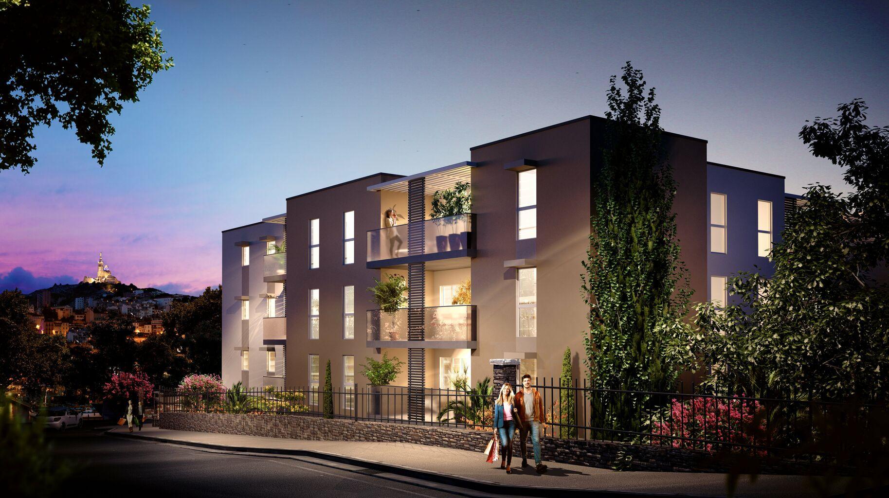 Programme immobilier VAL146 appartement à Marseille 10ème (13010) Située sur les hauteurs de Saint-Loup