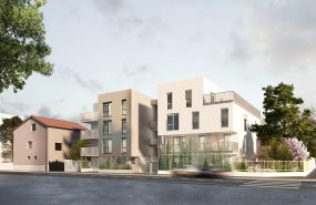 Programme immobilier REA2 appartement à Villeurbanne (69100) Situé à proximité de La Doua