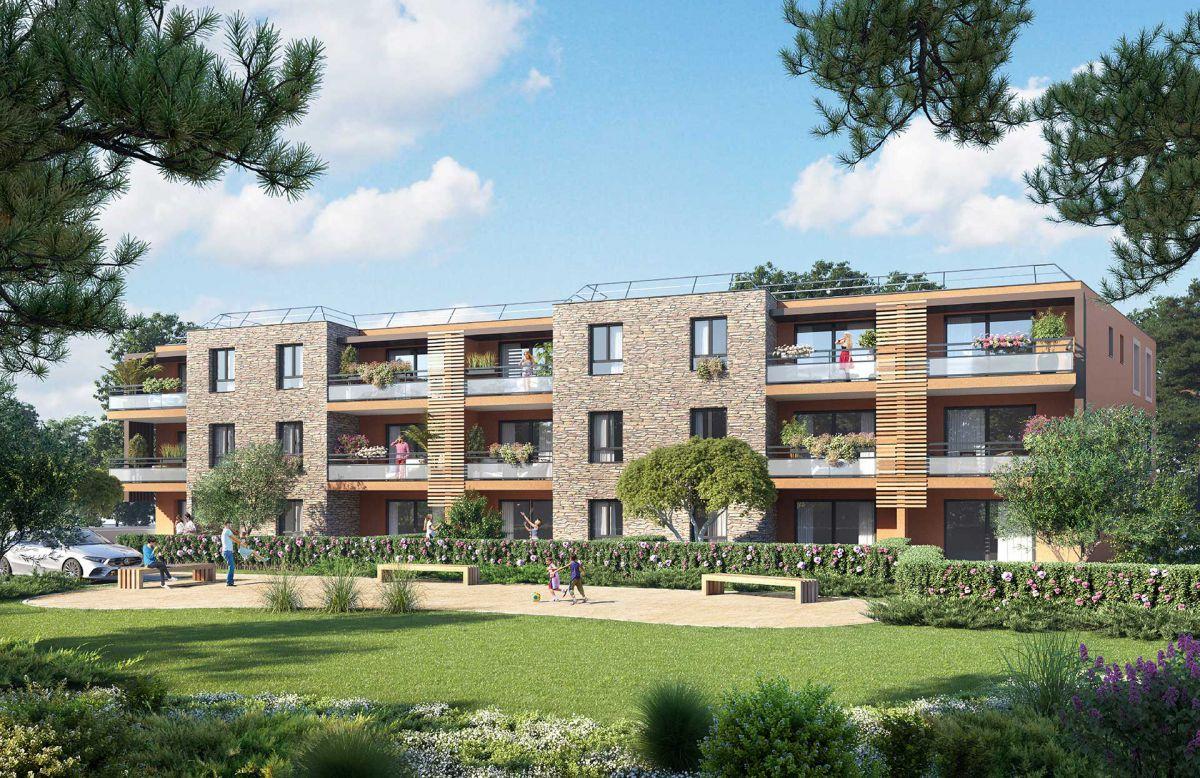 Programme immobilier EUR25 appartement à Bormes Les Mimosas (83230) Cadre convivial et plaisant
