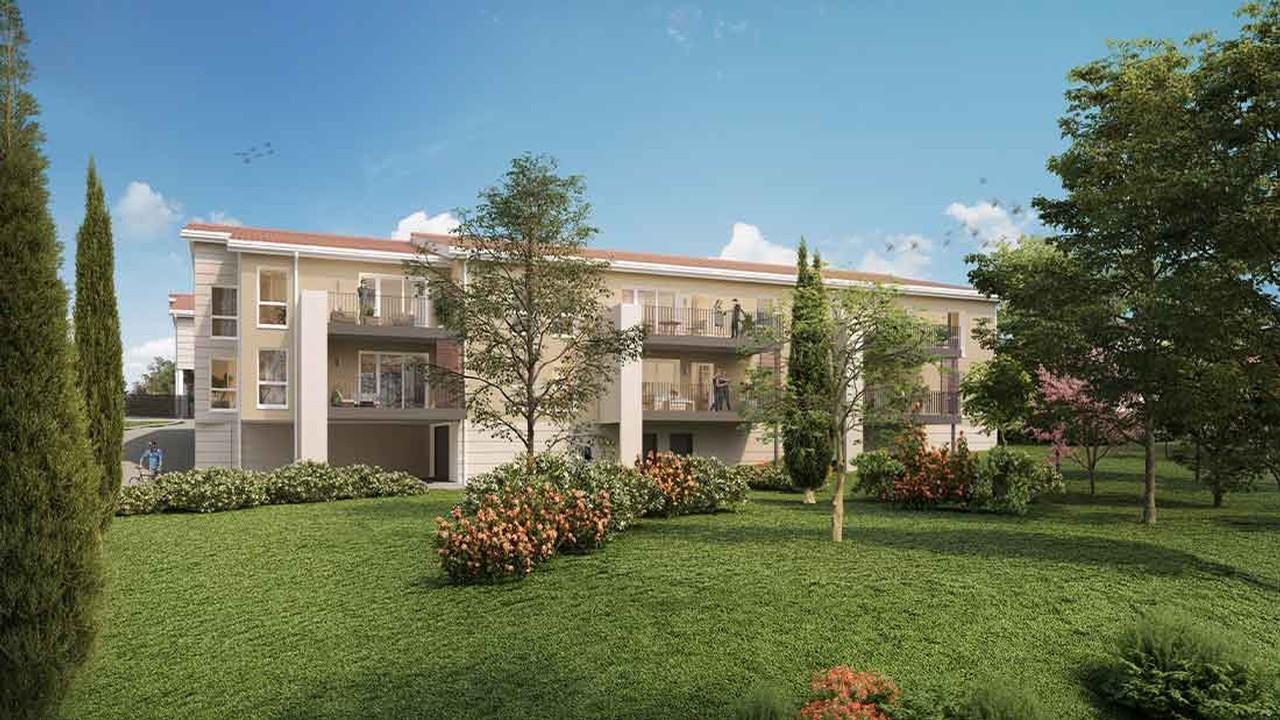Programme immobilier URB30 appartement à Simandres (69360) Cadre de vie paisible
