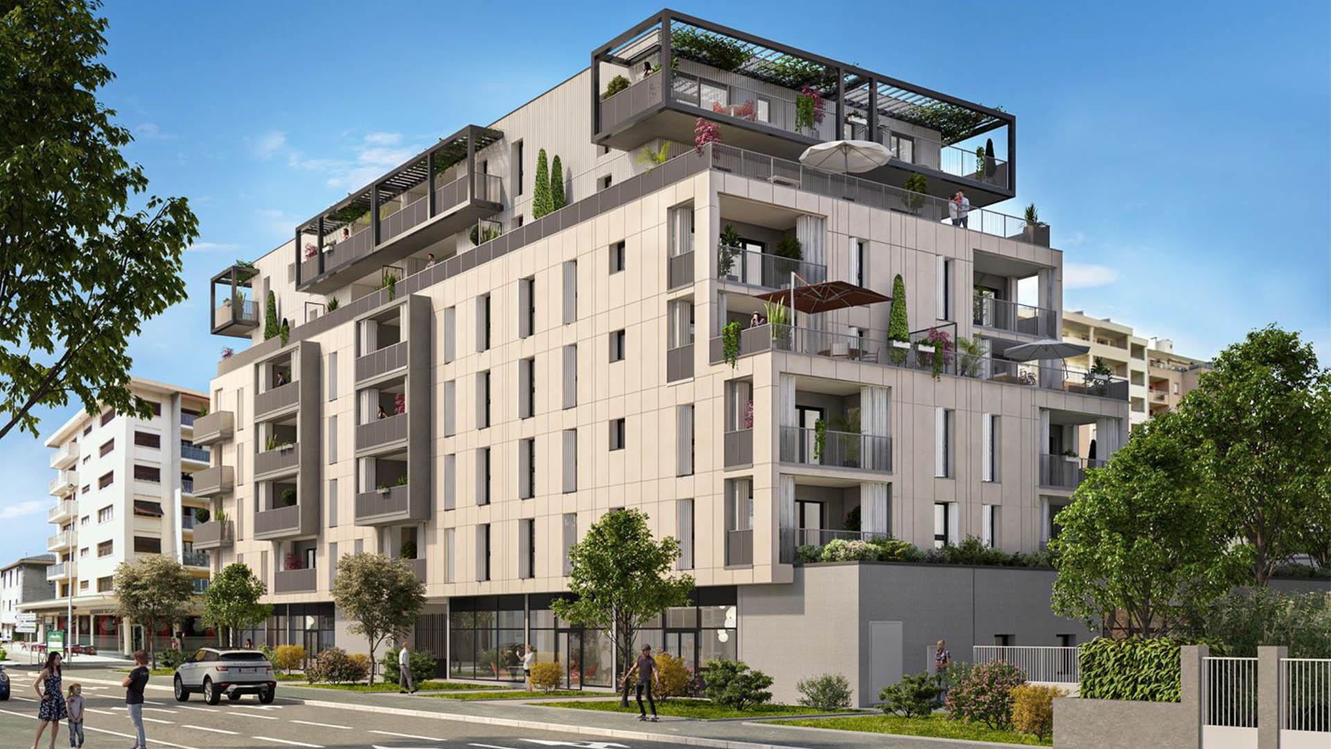 Programme immobilier ALT96 appartement à Annemasse (74100) À deux pas du tramway et du Léman Express