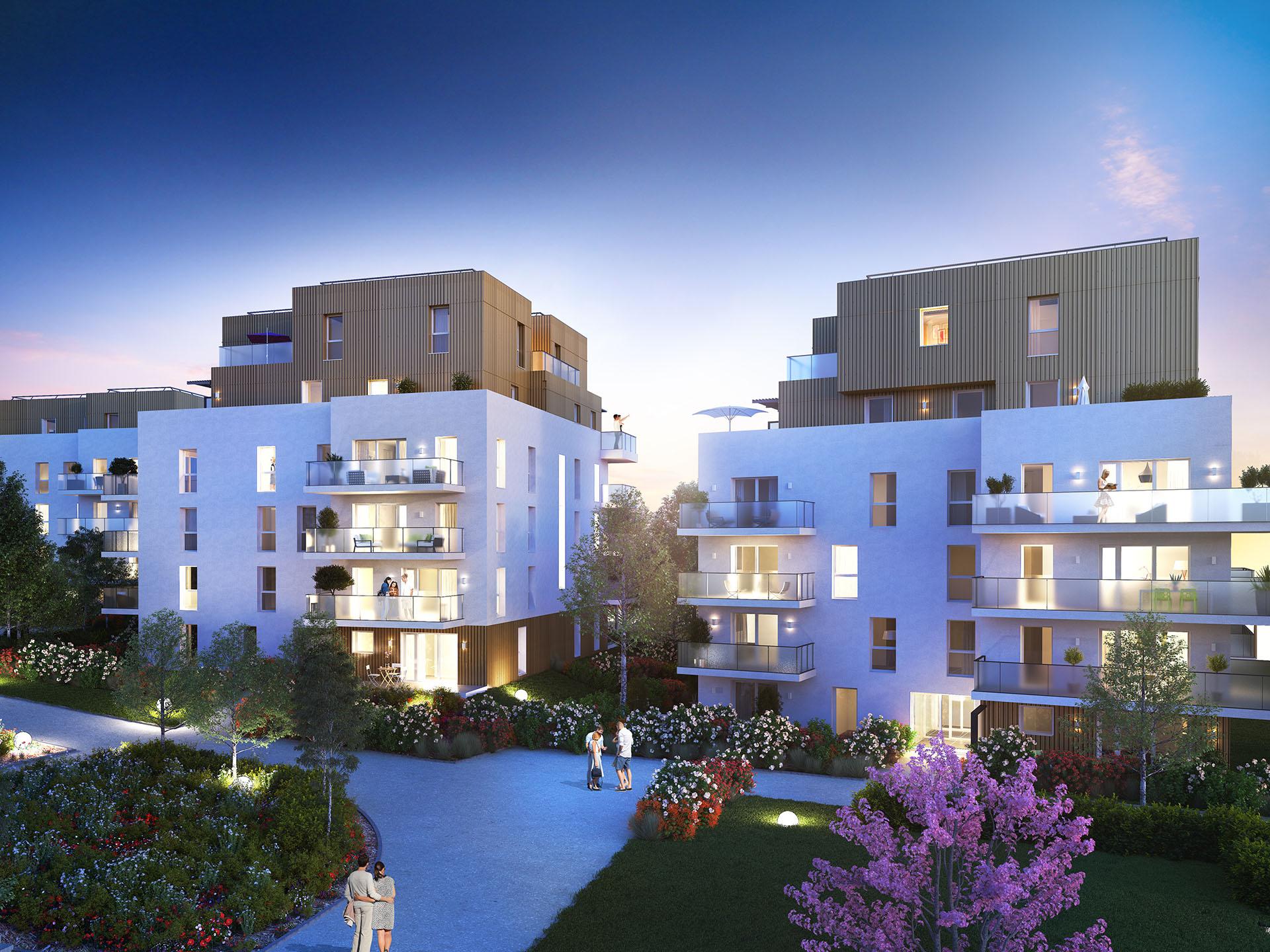 Programme immobilier BOW21 appartement à Viry (74580) Environnement dynamique d'un nouveau quartier