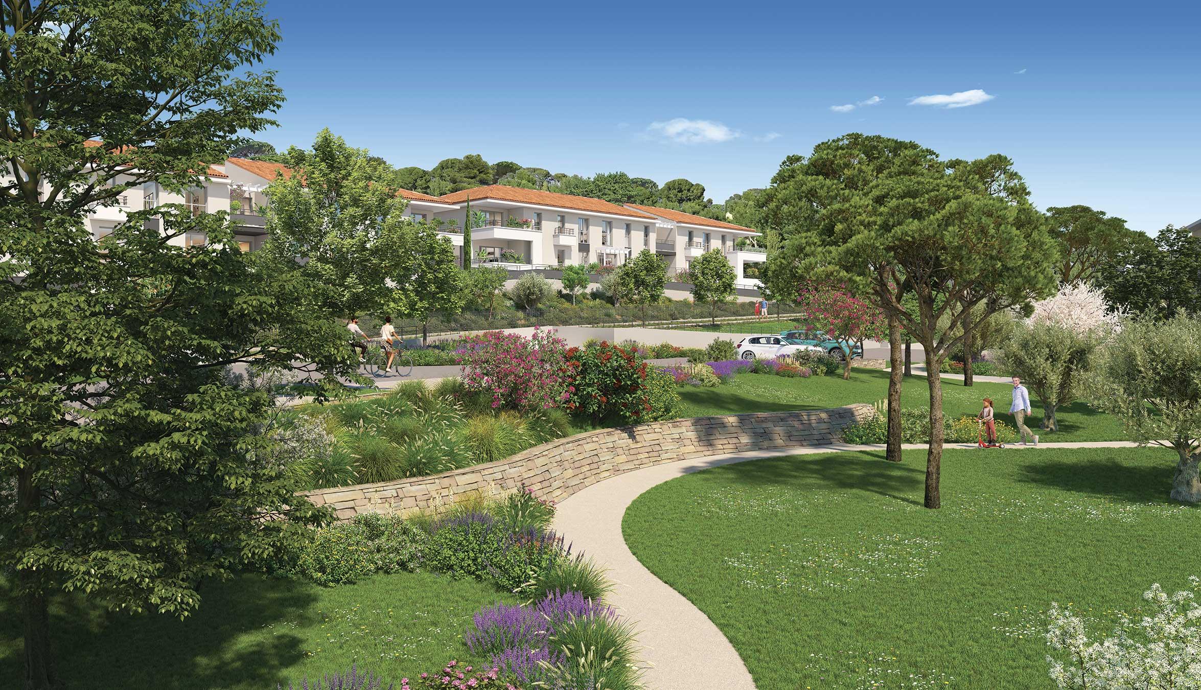 Programme immobilier ALT116 appartement à Ollioules (83190) À 11 mn du cœur de Toulon en voiture