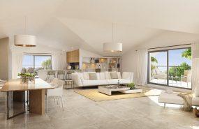 Programme immobilier ALT110 appartement à Toulon (83000) Dans un théâtre de verdure