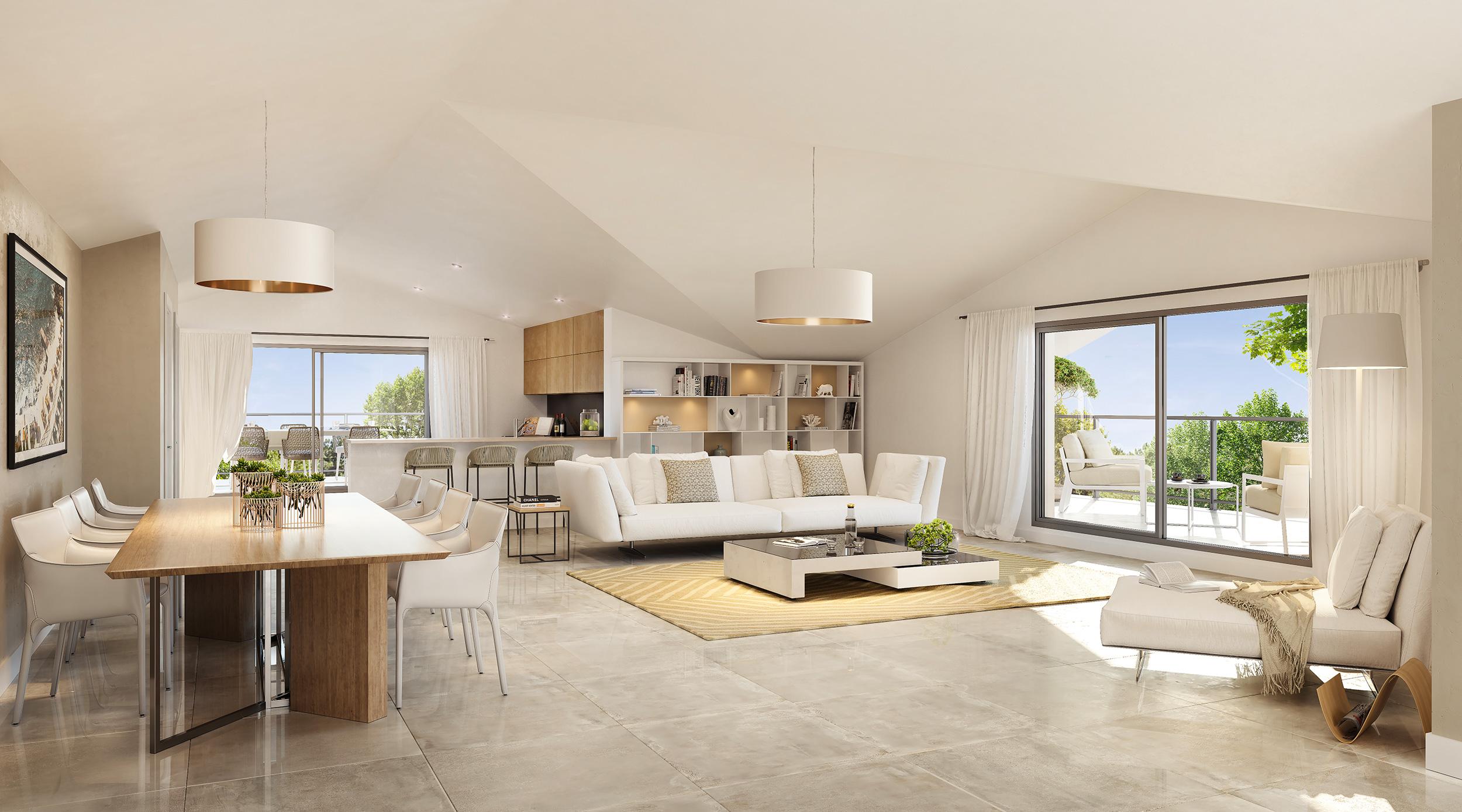 Programme immobilier ALT113 appartement à Toulon (83000) Secteur prisé du Mourillon et du Cap Brun