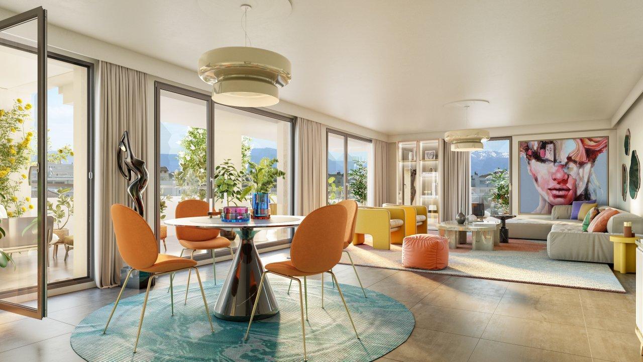 Programme immobilier VIN32 appartement à Annemasse (74100) Au cœur du centre-ville d'Annemasse