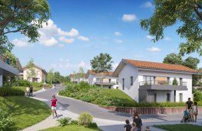 Programme immobilier EUR22 appartement à Crozet (01170) Cadre apaisant