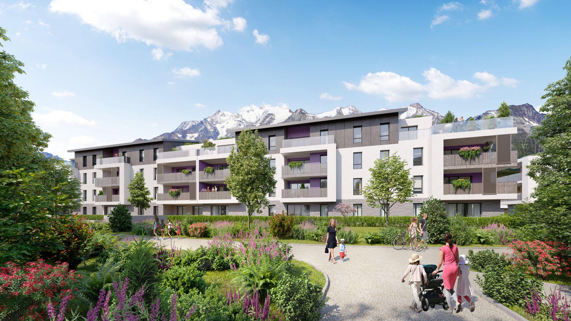 Programme immobilier EUR21 appartement à Cessy (01170) Implantée au sein d'un parc paysagé