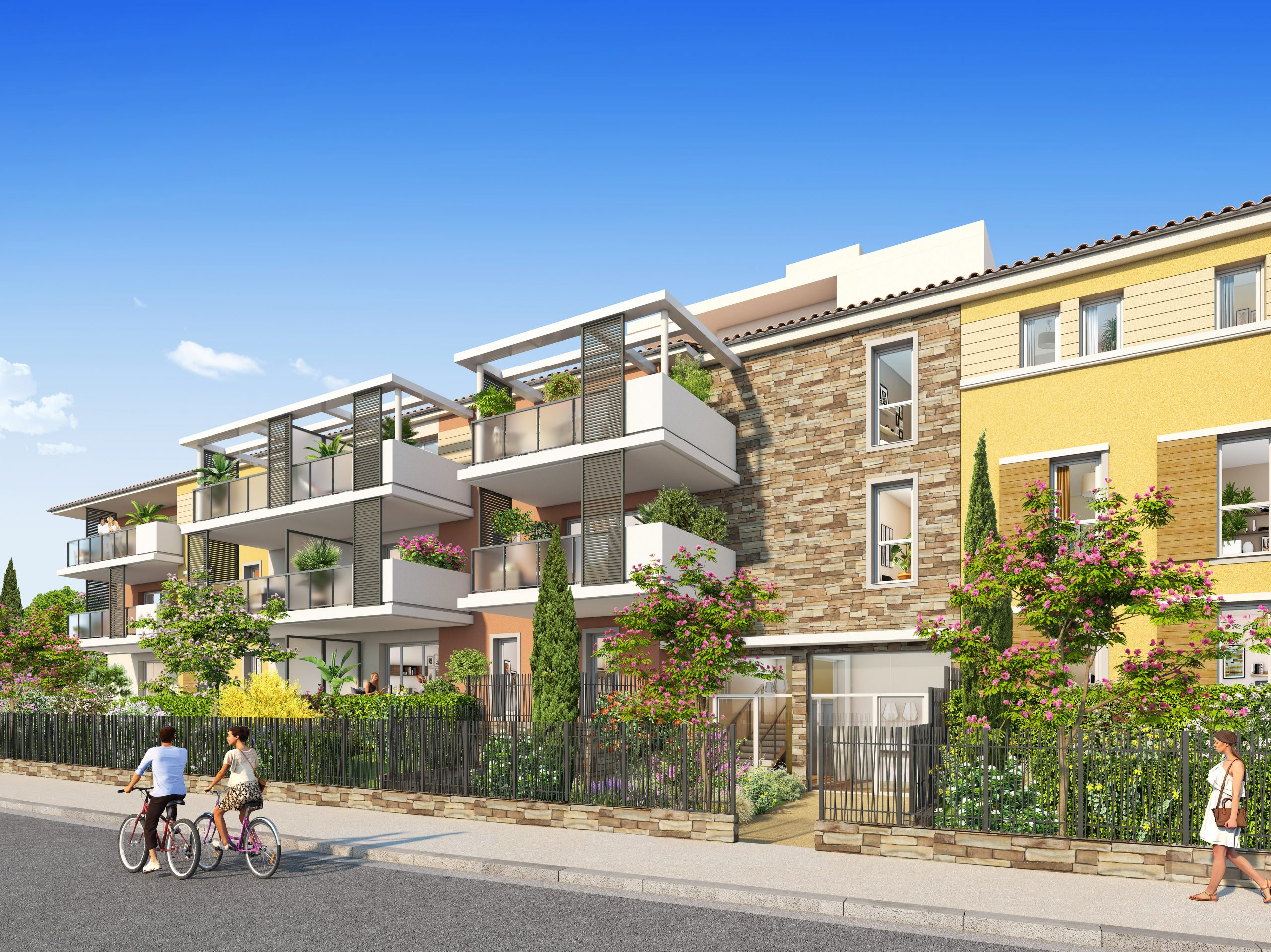 Programme immobilier ALT118 appartement à Cogolin (83310) Destination phare pour investir