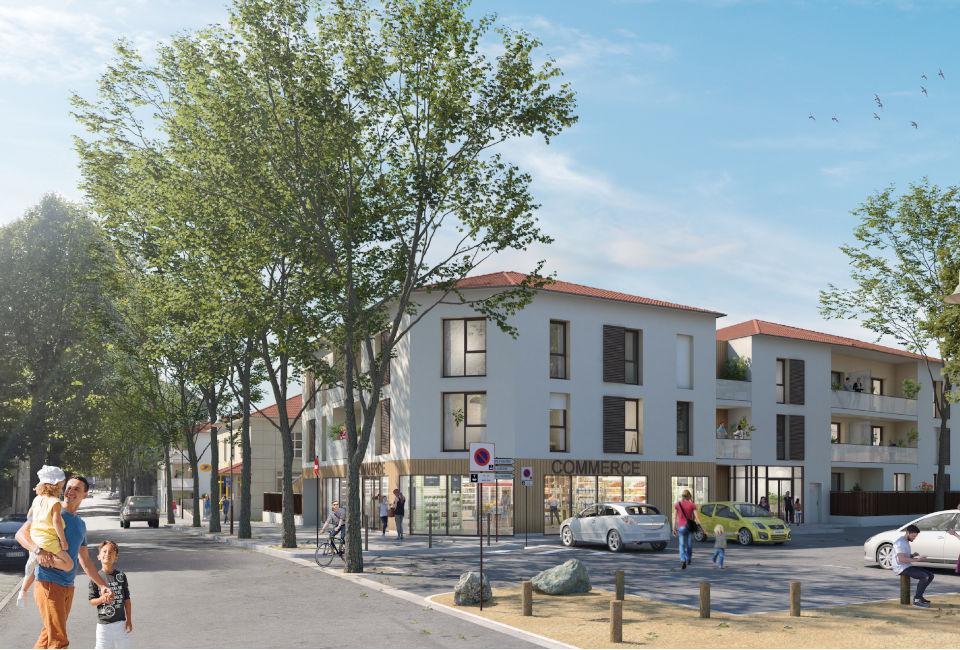Programme immobilier CAP16 appartement à Montluel (01120) Situation en cœur de ville