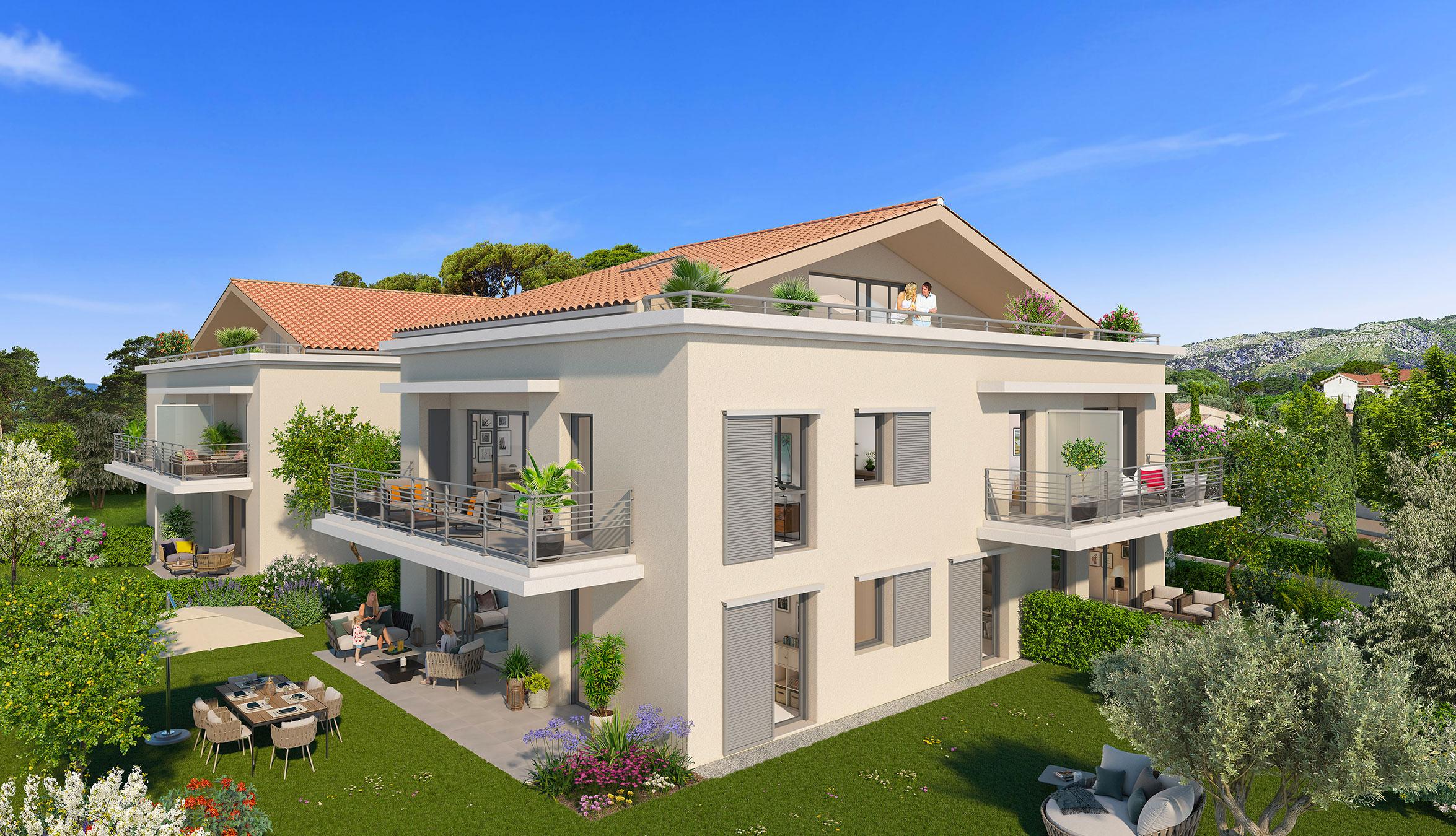 Programme immobilier ALT114 appartement à Toulon (83000) Quartier recherché au Cap Brun