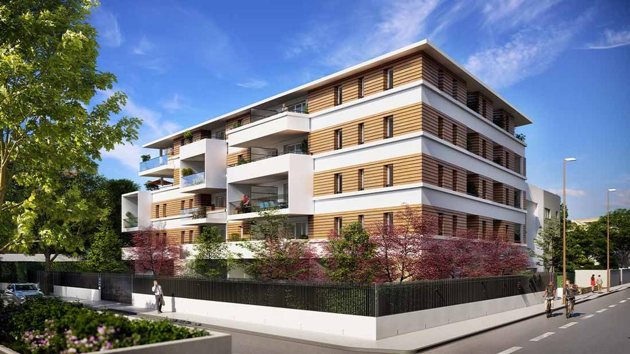 Programme immobilier URB26 appartement à Avignon (84140) Environnement agréable et arboré